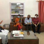 कैबिनेट मंत्री गणेश जोशी ने विभागीय अधिकारियों की बैठक ली