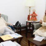 कैबिनेट मंत्री डा0 हरक सिंह रावत ने गृह मंत्री अमित शाह से मुलाकात की