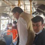 मुख्यमंत्री धामी ने देहरादून आईएसबीटी का किया औचक निरीक्षण